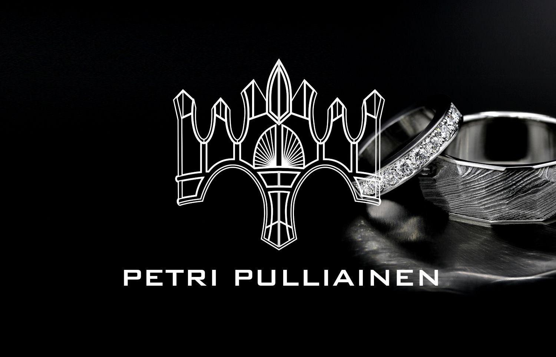 Galleria upeita yksilöllisiä vihkisormuksia Petri Pulliainen